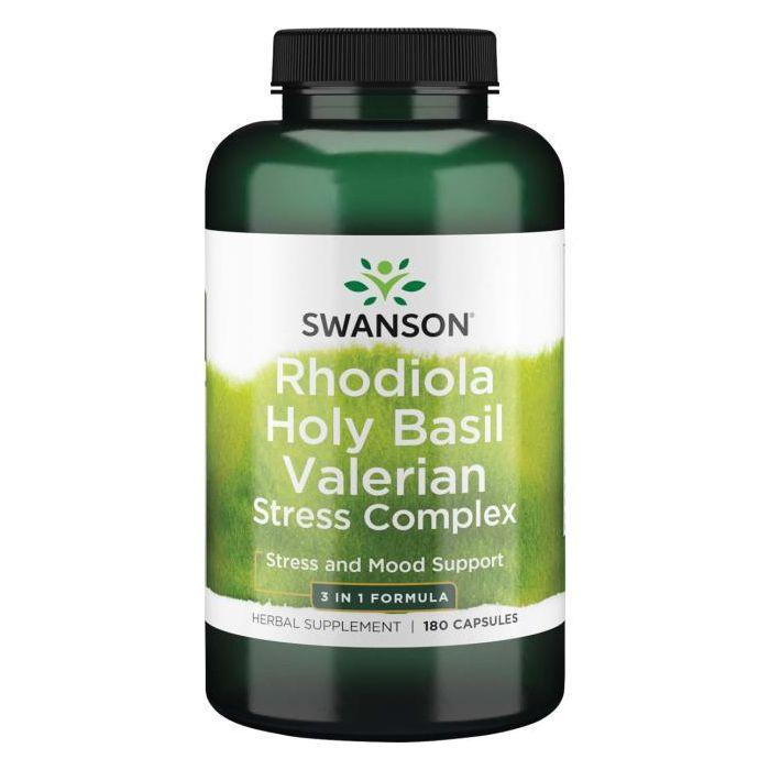 Rhodiola Holy Basil Valerian Stress Complex