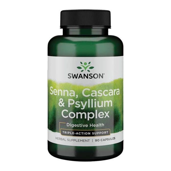 Senna Psyllium Cascara Cleanse Complex